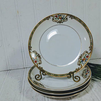 Saucer Replacement Plate in Noritake Morimura Chelsea Pattern Matching Saucer for Tea / Coffee Cup Individual Fine China Plate - 4 Available