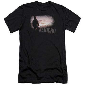 Jericho - Mushroom Cloud Premium Canvas Adult Slim Fit 30/1 Shirt Officially Licensed T-Shirt