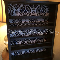 Beautiful, Elegant, Sleek, HighEnd Custom Handmade Wood Nail Polish Rack & Organizer