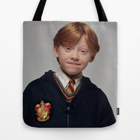Ron Tote Bag by Max Jones | Society6