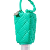 PocketBac Holder Basketweave Blue
