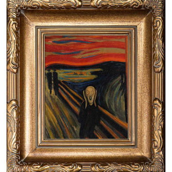 Overstock Art The Scream Hand by Edvard Munch (Canvas)