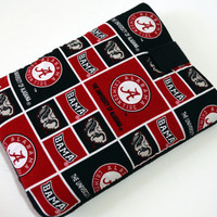 "University of Alabama Team Tablet Case/ College Football Team Tablet Case /Kindle Fire HD 7"" Case/ i Pad Mini case/ Nook HD Case"