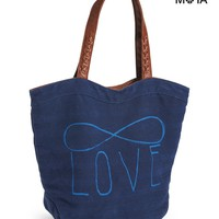 Aeropostale Infinity Love Tote - Midnight Navy, One