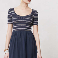 Pleated & Puckered Dress