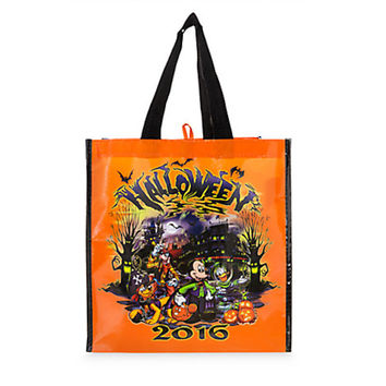 Disney Parks Mickey Mouse and Friends Reusable Tote Halloween 2016 New with Tags