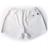"The Miami Whites 5.5"" Shorts in White by Kennedy"