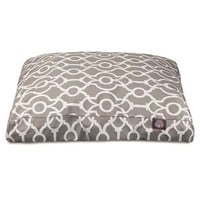 Athens Rectangle Dog Bed by Majestic Pet Products