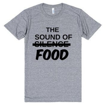 THE SOUND OF SILENCE, NO FOOD