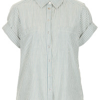 Casual Stripe Shirt - Tops - Clothing - Topshop