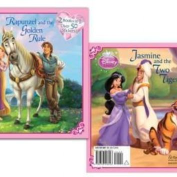 Rapunzel and the Golden Rule/ Jasmine and the Two Tigers (Disney Princess)