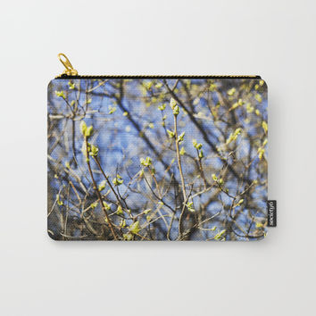 Nature Series: Spring Carry-All Pouch by Short Circuits & Folding Mirrors