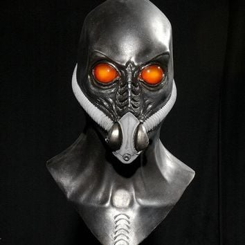 Halloween Horror Mask   Halloween costume party mask    Alien with oxygen hood mask