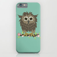 Little owl iPhone & iPod Case by Julia Badeeva