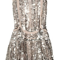 Diamond Coated Dress | Sequin Vintage Flapper Dresses | Rickety Rack