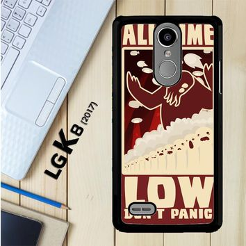 All Time Low Logo Y0296 LG K8 2017 / LG Aristo / LG Risio 2 / LG Fortune / LG Phoenix 3 Case