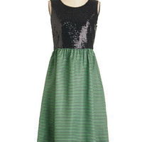 Long Sleeveless A-line Mix and Magical Dress
