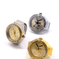 MK Diamond ring watch [10606600903]