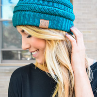 Powder Day Beanie Teal