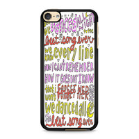 iPod Touch 4 5 6 case, iPhone 6 6s 5s 5c 4s Cases, Samsung Galaxy Case, HTC One case, Sony Xperia case, LG case, Nexus case, iPad case, Best Song Ever Lyrics Cases
