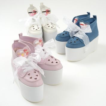 Swankiss Picnic Platform Sneakers