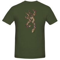 Browning Men's Bullet Shells Buckmark Short Sleeve T-Shirt