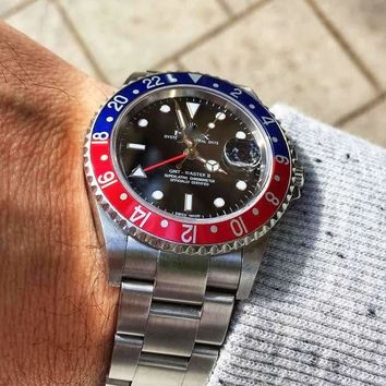 Day-date GMT Master II Watch
