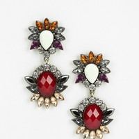 Disco Flower Drop Earring - Urban Outfitters