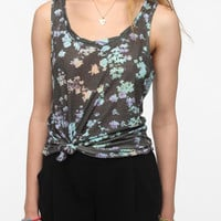 Urban Outfitters - BDG Printed Racerback Tank Top