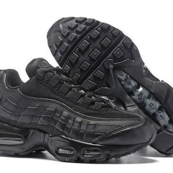 PEAPONVX Jacklish All Black Nike Air Max 95 Essential Triple Black For Sale