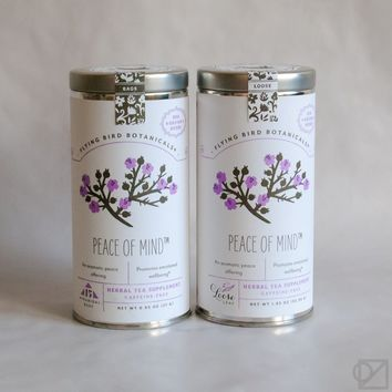 Flying Bird Botanicals Peace of Mind Gift Tea - Omoi Zakka Shop