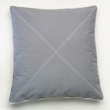 Happy Chic by Jonathan Adler Laura Euro Pillow (Grey)