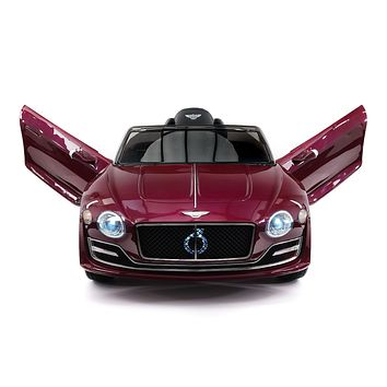 Bentley EXP 12V Kids Electric Ride-On Car with R/C Parental Remote | Magenta