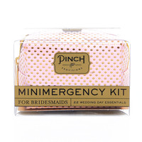 Pink & Gold Dot Bridesmaid Minimergency Survival Kit