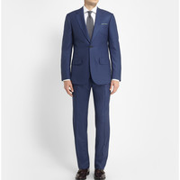 Lutwyche - Blue Check Wool Suit | MR PORTER