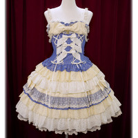 Star Mille-feuilleジャンパースカート/Star Mille-feuille jumper skirt | BABY,THE STARS SHINE BRIGHT
