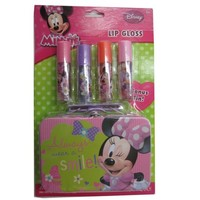 Disney Girls Minnie Lip Gloss Tin Cosmetic Accessory - Walmart.com