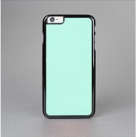 The Subtle Solid Green Skin-Sert for the Apple iPhone 6 Plus Skin-Sert Case