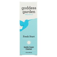 Goddess Garden Fresh Start Cream - Cleanser - Case Of 1 - 4 Oz.
