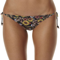 SURFSTITCH - WOMENS - SWIMWEAR - BIKINI BOTTOMS - 2 CHILLIES MOONLIT MEADOW ROUCH BACK TIE SIDE SEPARATE PANT - MOONLIGHT MEADOW