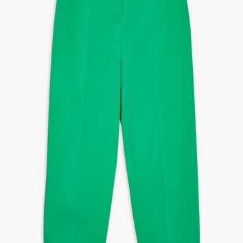 Belted Peg Trousers - Clothing