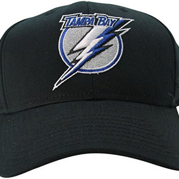 eebb9a5eddd NHL Reebok Tampa Bay Lightning Men s Adjustable Hat Black