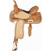 Tex Tan Ocala Barrel Saddle