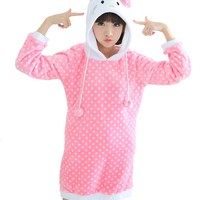 Caringgarden Unisex Adult Cartoon Cosplay One-Piece Pajamas Animal Onesuit Sleepwear