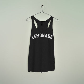 Lemonade Women racerback tank top bey