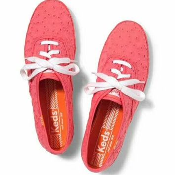 Gotopfashion keds Oxford Lace-Up Sneakers pink H-G-JGYF