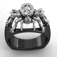 Incredible Spider Ring Ladies Silver