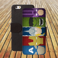 iphone 5 5s case Giant iphone 4/ 4s iPhone 6 6 Plus iphone 5C Wallet Case , iPhone 5 Case, Cover, Cases colorful pattern L084