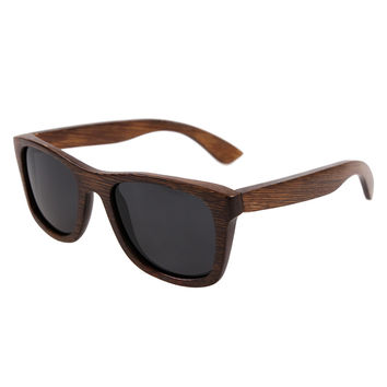 BerWer bamboo sunglasses 2017 fashion polarized sunglasses popular new design wooden sunglasses for free shipping