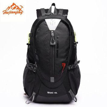 LONMF 40L Outdoor Backpack sports bag Hiking Cycling Bag Climbing Lightweight Waterproof Travel Backpack Big Load Knapsack Rucksack